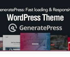 The WordPress Theme I use
